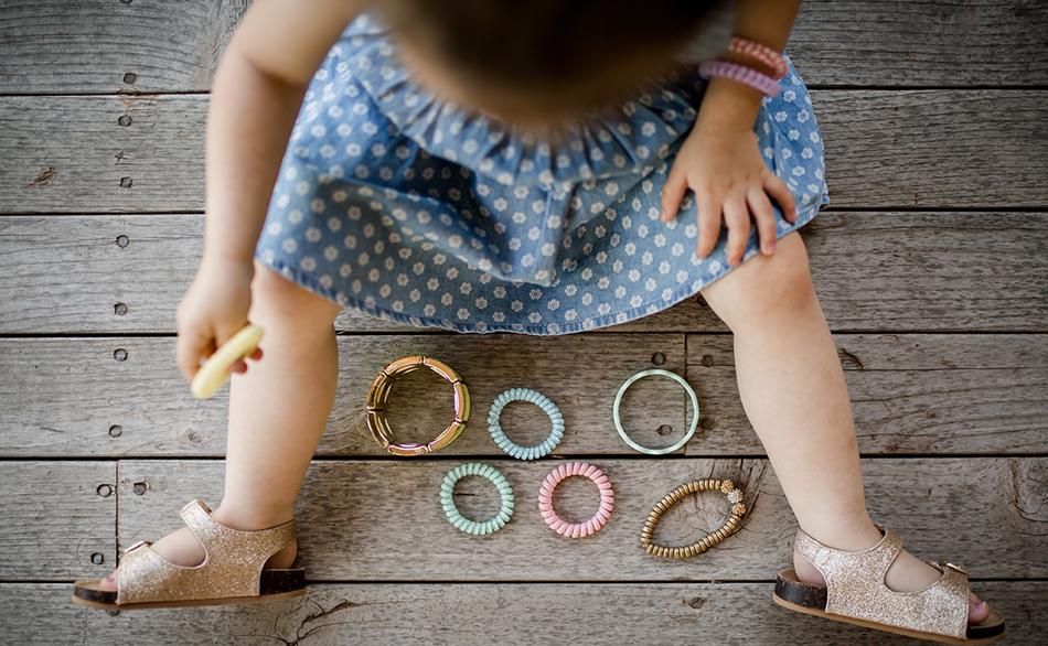 Des anneaux dans la crèche écologique Montessori de Pantin