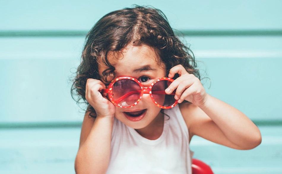 Un enfant de lé crèche écologique Montessori de Pantin